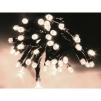Guirlande lumineuse 800 led blanc chaud 16 mètres 8 animations