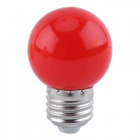 Ampoule LED Guinguette rouge E27 1W G45