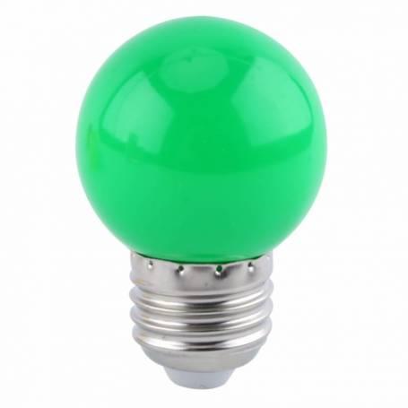Ampoule LED Guinguette verte E27 1W G45