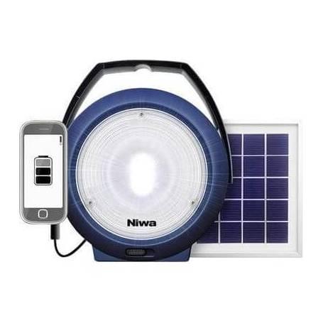 Lampe led exterieure rechargeable solaire 300 lumens
