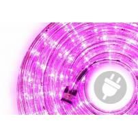 cordon lumineux led professionnel 30 mètres Rose
