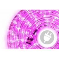 cordon lumineux led 40 mètres Rose