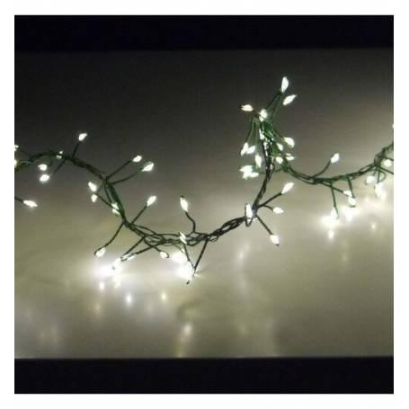 Guirlande lumineuse 1200 LED 15 mètres 8 programmes