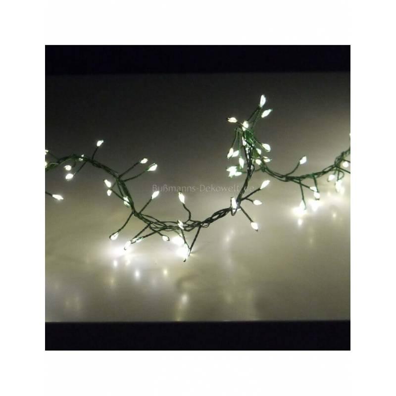Guirlande 960 LED blanc chaud 11M 8 animations