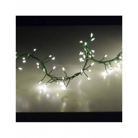 Guirlande 960 LED blanc chaud 11M 8 animations