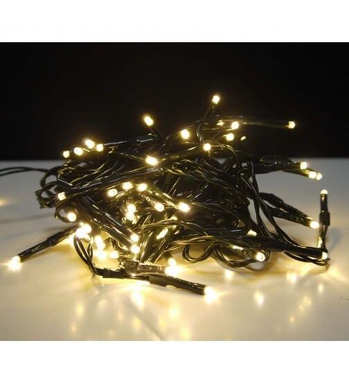 Guirlande pour sapin de noel 349 leds 9 branches pro illumination for Spot led pour noel