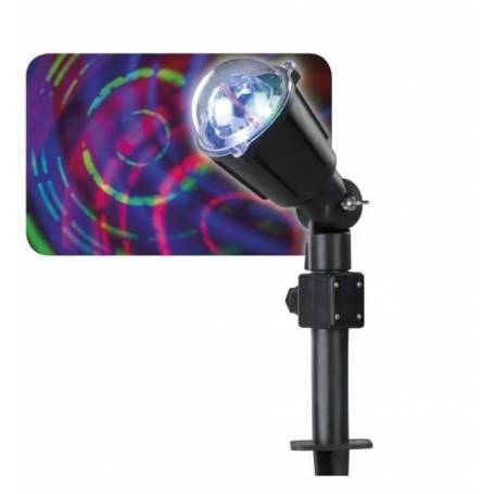 Projecteur LED déco tourbillon de lumière