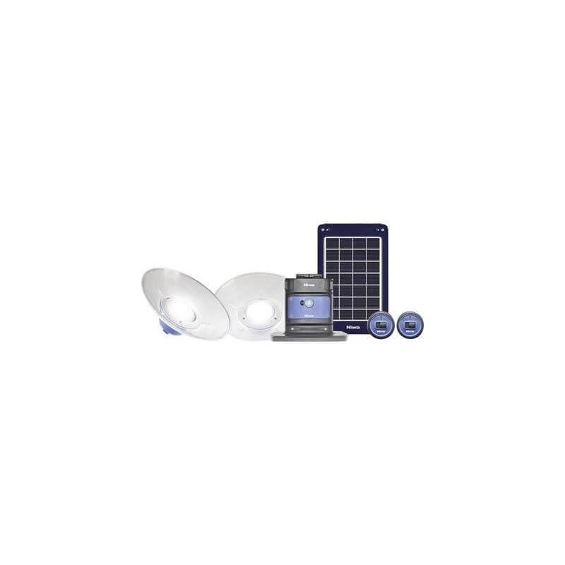 eclairage nomade led solaire professionnel par 2 chantier