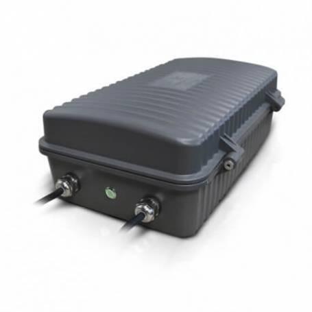 Projecteur led batterie de secours 3h gris 100w blanc froid professionnel