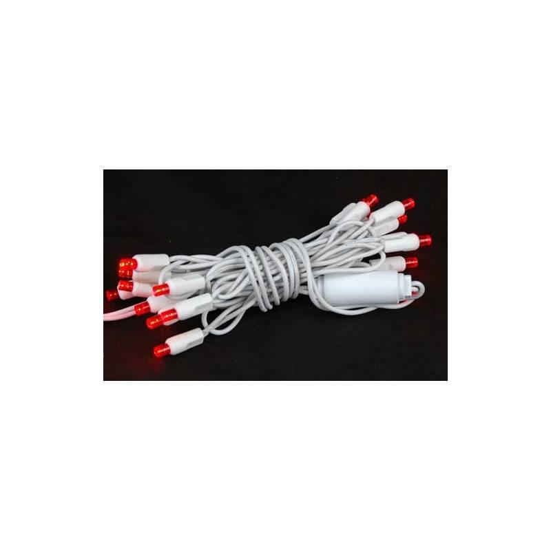 Guirlande lumineuse LED 6M rouge raccordable professionnelle
