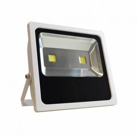 Projecteur led plat blanc 120w blanc froid professionnel extérieur