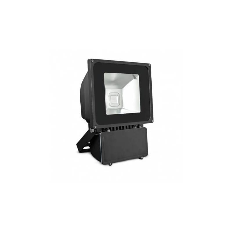 Projecteur led gris 80w rgb télécommande