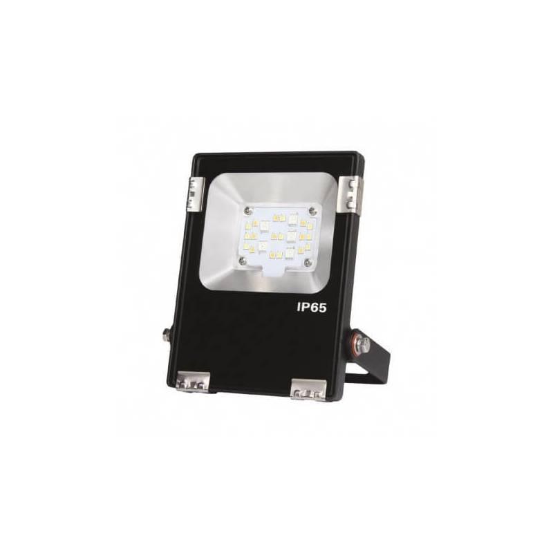 Projecteur led rgb ou blanc 10w noir extérieur