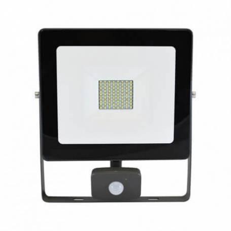 Projecteur led détecteur de mouvement extérieur 50w blanc chaud