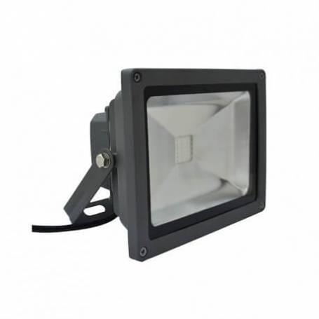 Projecteur led gris 20w rgb changement de couleur