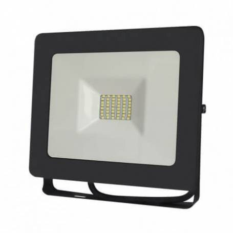 Projecteur led 230v plat gris 30w blanc naturel