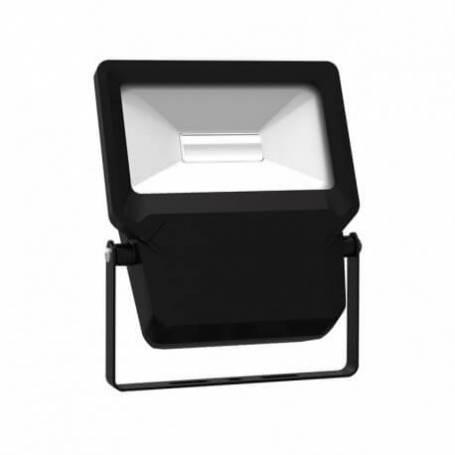 Projecteur led plat noir 30w blanc froid extérieur