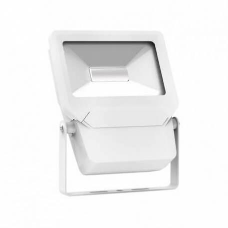 Projecteur led plat blanc 20w blanc froid
