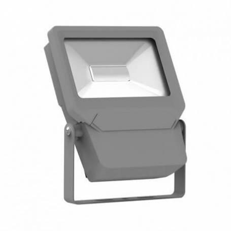 Projecteur led plat gris 10w blanc froid professionnel