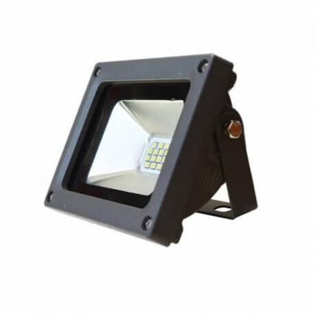 Projecteur led plat gris 10w blanc froid