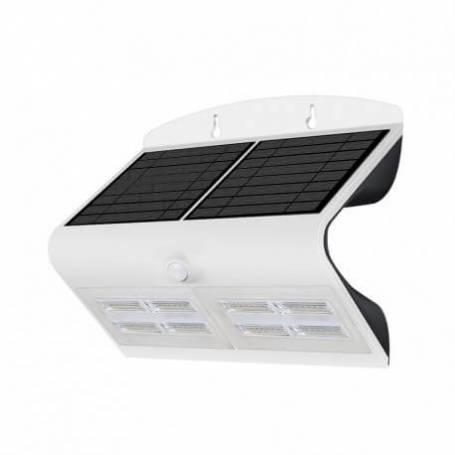 Applique murale led solaire 6.8w blanc naturel blanc détecteur de mouvement professionnelle