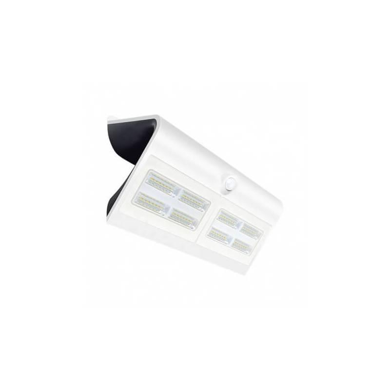 Applique murale led solaire 6.8w blanc naturel blanc détecteur de mouvement professionnelle professionnel