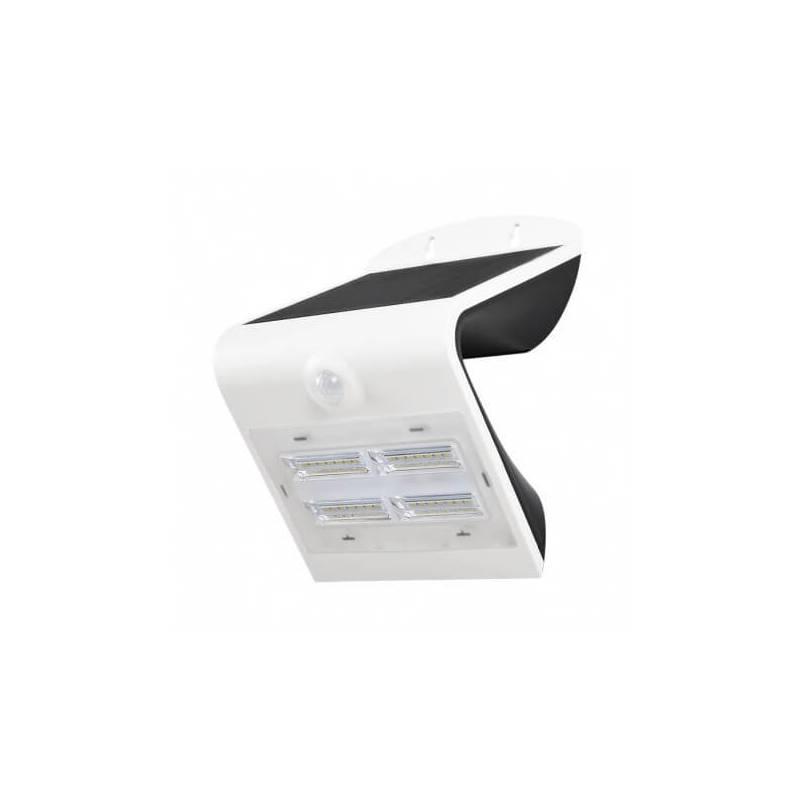 Applique solaire murale led solaire 3.2w blanc naturel blanc détecteur de mouvement professionnel