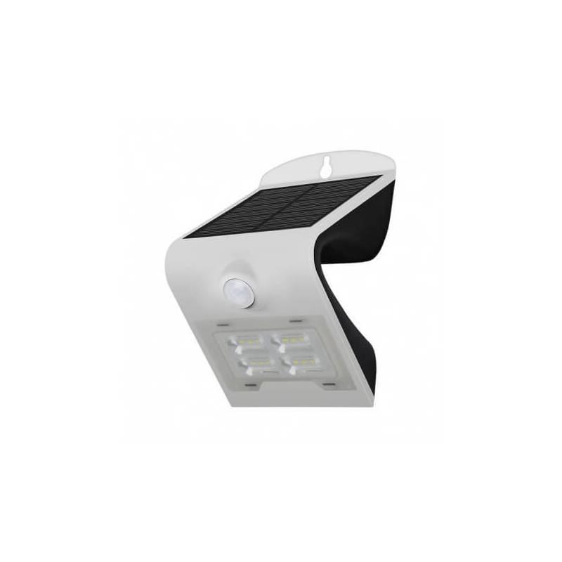Applique murale led solaire 2w blanc naturel blanc détecteur de mouvement professionnel