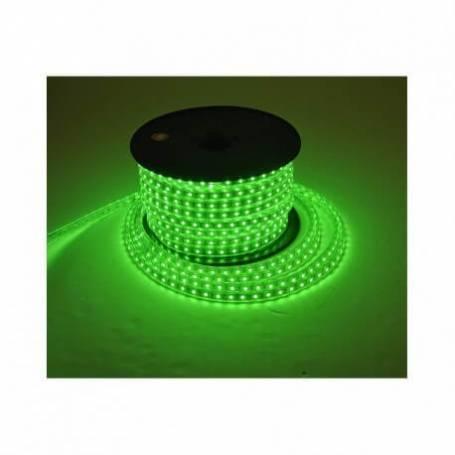 Bandeau lumineux led vert 50 mètres extérieur professionnel