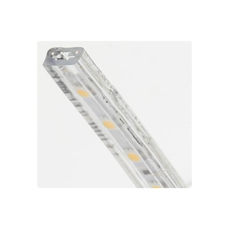 Bandeau lumineux led blanc chaud 50 mètres exérieur professionnel