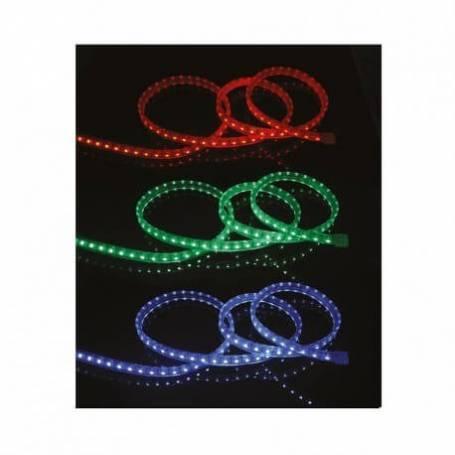 Bandeau lumineux led RGB 50 mètres avec télécommande extérieur professionnel