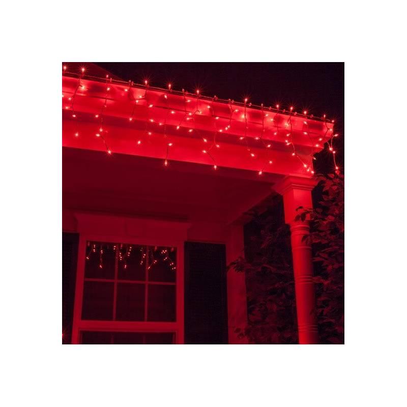 guirlande stalactite professionnelle led rouge raccordable