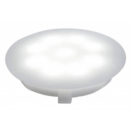 Spot led encastrable salle de bain sol rond IP67 opaque