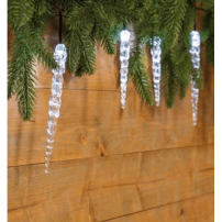 Guirlande glaçon LED stalactite professionnelle