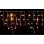 Guirlande stalactite flash 3M H 50CM 114 LED blanc chaud raccordable 230V ILLUPRO