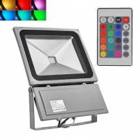 Projecteur 100w RGB télécommande professionnel extérieur