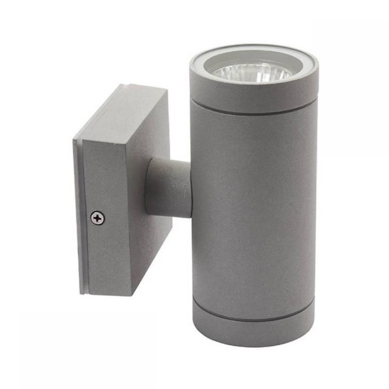 Applique extérieur double lumière haut et bas GU10 professionnel