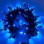 Guirlande lumineuse LED 10M 120 LEDS bleues raccordable professionnelle 230V ILLUPRO
