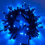 Guirlande lumineuse LED 10M bleue raccordable professionnelle