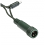 guirlande led connectable bleue professionnelle