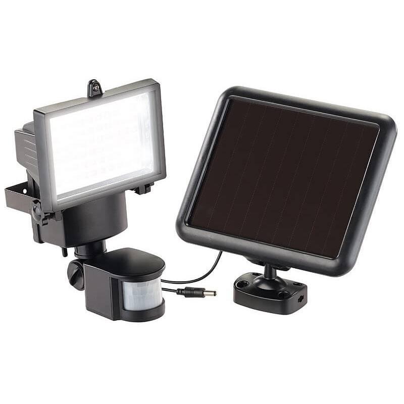 Projecteur solaire led 12w detecteur de mouvement automatique professionnel