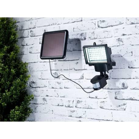 Projecteur solaire détecteur de mouvement 1000 lumens automatique professionnel LEBLANC CHROMEX