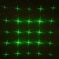 Projecteur laser Noel étoiles vertes points rouges animés professionnel