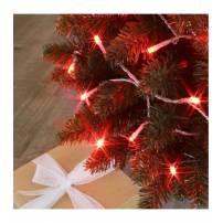 Guirlande lumineuse connectable  8 m animée blanc froid et rouge