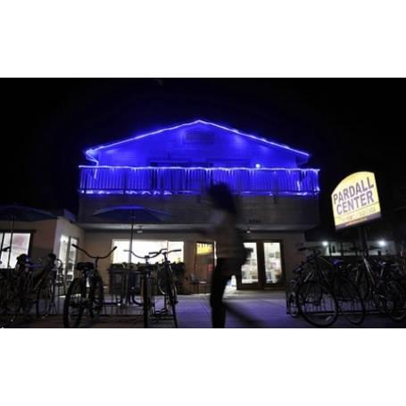 cordon lumineux led 10 mètres bleu illumination façades
