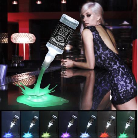 Lampe Splash LED RGB pour bouteille professionnel
