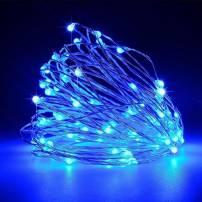 Guirlande micro led bleue 7,5m