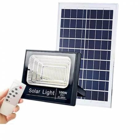 Projecteur solaire 100w professionnel blanc froid