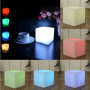 Mini cube lumineux led multicolore RVB piles sans fil autonome