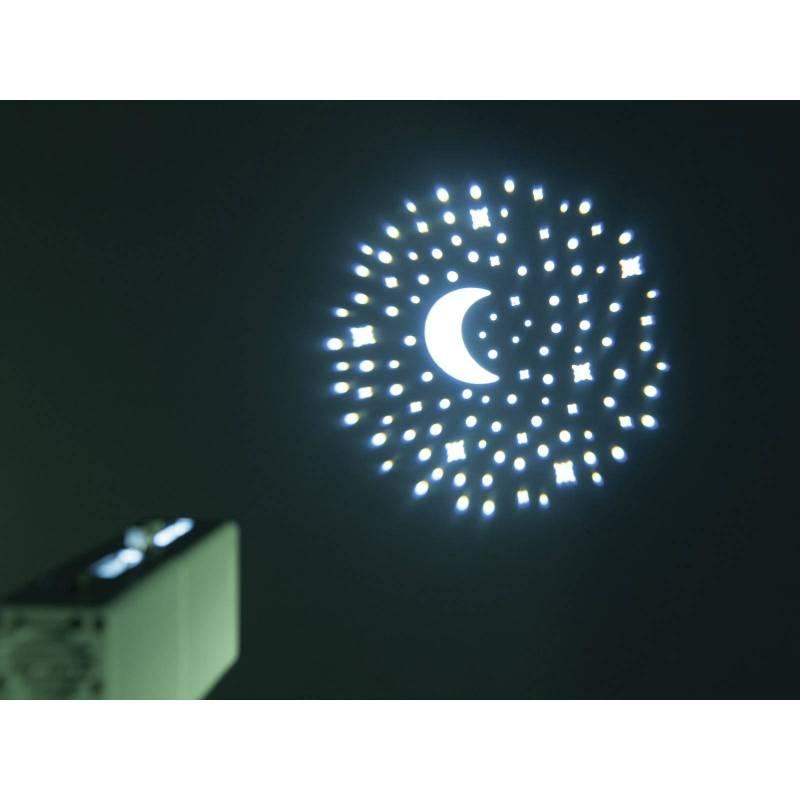 Projecteur image Gobo mini rechargeable 10w télécommande professionnel